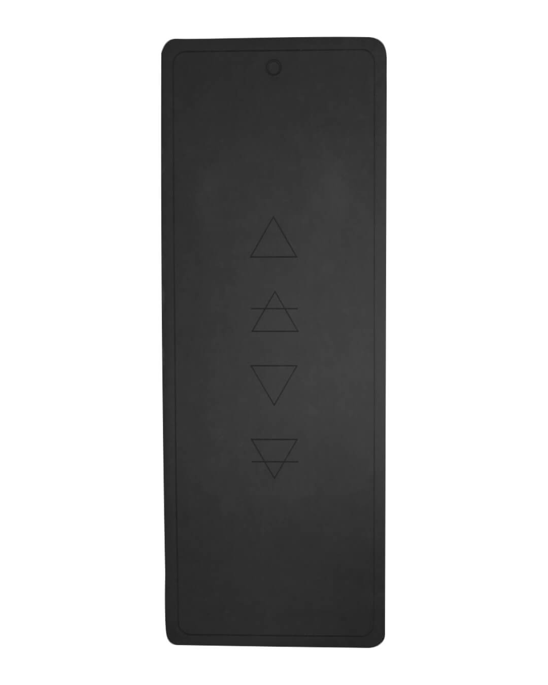 Black Elements Yoga Mat